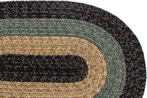Black Braided Rugs by Florida Country Black Braided Rug