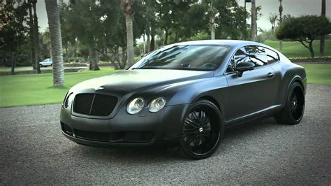 Bentley Continental Gt Blacked Out Wallpaper 1280x720