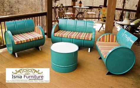 Set Garden Jati Unik model kursi cafe unik bahan kayu jati paling top model