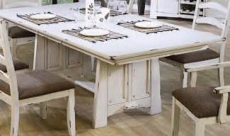White Distressed Dining Table And Chairs Capture By Distressed Wood Dining Table Home