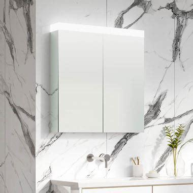 illuminated bathroom mirror cabinets  shaver socket