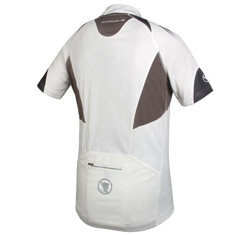 19317 White Textured Sml Jacket hummvee ii s s jersey trail protection endura
