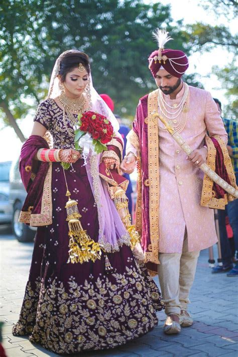 Pinterest @bhavi91   Perfect Couple in 2019   Sikh wedding