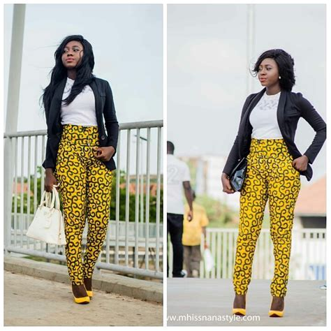 ankara designs for women trouser and jacket styles chiffon jacket and tops slayed with ankara pants a