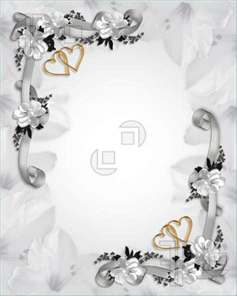 Wedding Engagement Borders by 8 Best Images Of Wedding Invitation Borders And Frames