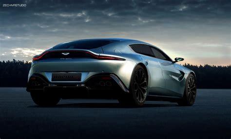Aston Martin Rapide by 100 Cars 187 Aston Martin Rapide