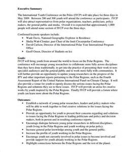 meeting rfp template sle conference template 9 free documents in