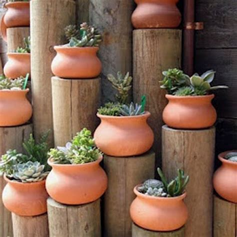 Clay Planters Washpot Garden Pottery Made In Mexico Real Clay
