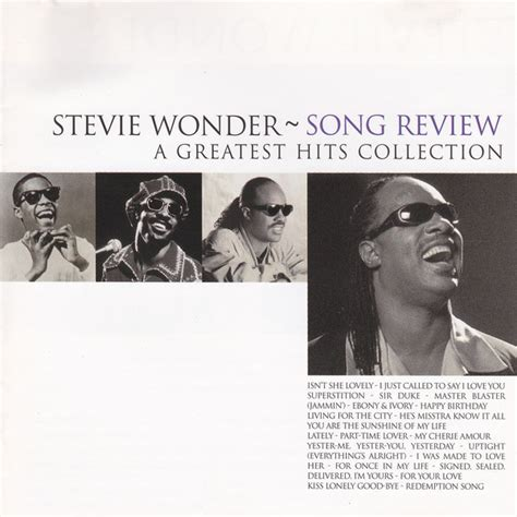 a for all time review stevie song review a greatest hits collection