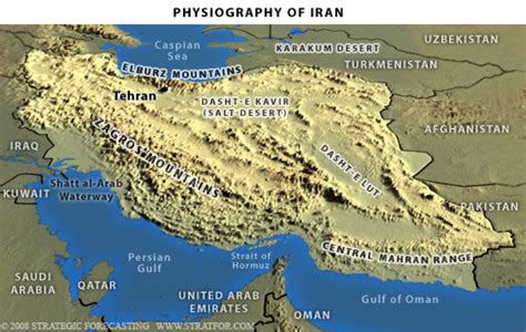 middle east map elburz mountains the geopolitics of iran holding the center of a mountain