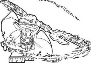 lego chima cragger poisoned by the power of chi coloring pages sketch template
