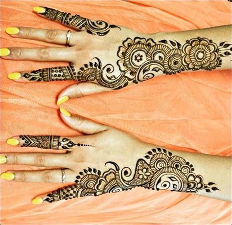 gambar desain henna tangan 100 gambar henna tangan yang cantik dan simple beserta