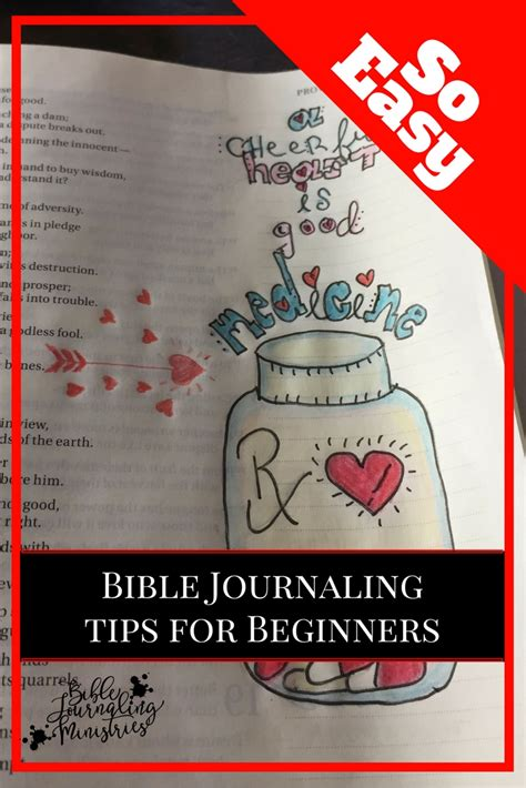 ideas for beginners bible journaling tips for beginners everything you need