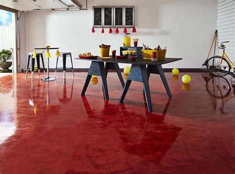 RockSolid Garage Floor Coating Creates Party Ready Space