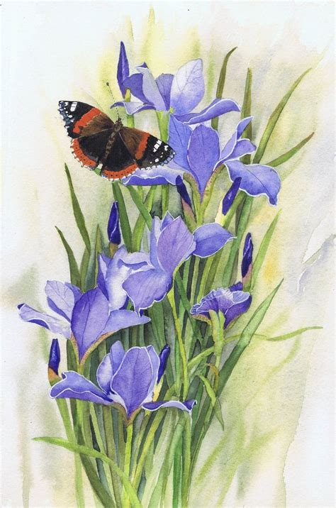 The Watercolour Flower Artist S Bible 1000 images about watercolour paintings by julie horner on scarlet purple and