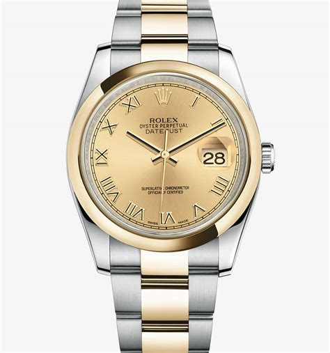 Rolex Datejust Combi Gold For replica rolex datejust yellow rolesor combination of 904l steel and 18 ct yellow gold