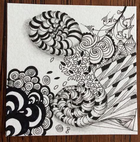 zentangle pattern marasu 1000 images about zentangle renaissance tiles on