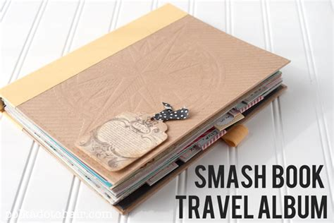 traveling high and tripping books smash book travel album the polka dot chair