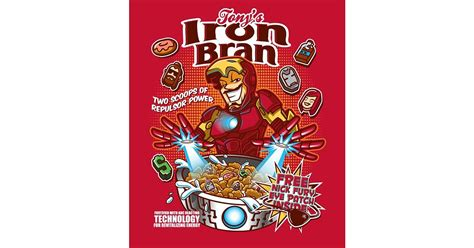 Uk Home Decor iron bran presenting your favorite superheroes as cereal