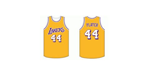 michael weinstein nba logo redesigns los angeles lakers
