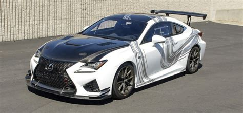 lexus rc f gt concept to appear at