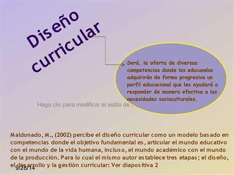 Cual Es El Modelo Curricular De Calam 233 O Diapositivas Dise 209 O Curricular
