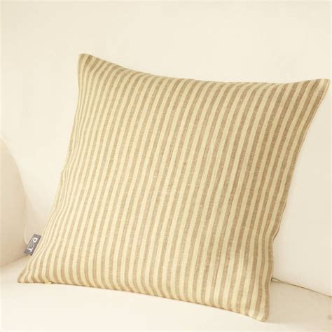 striped cushion cover by jodie notonthehighstreet