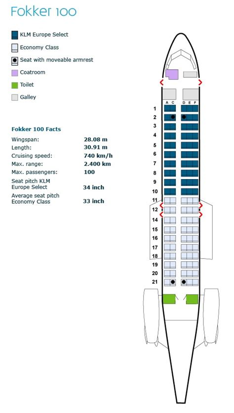 klm royal airlines aircraft seating charts airline