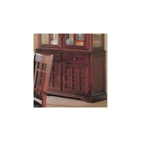 Maxy Ori Cherry Store New coaster newhouse buffet china cabinet in cherry finish