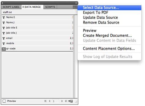 Tutorial Indesign Data Merge | mojoprint tutorials 187 blog archive 187 indesign data merge