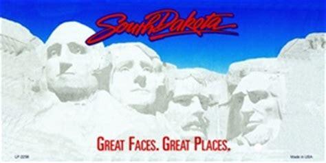 printable paper license plates south dakota south dakota blank license plate