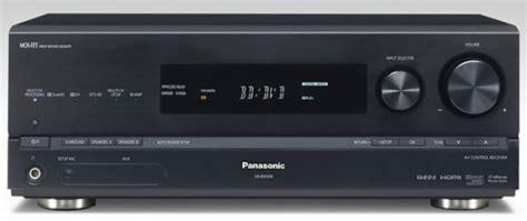 V Audio Surround Panasonic panasonic sa bx500 av receiver review test