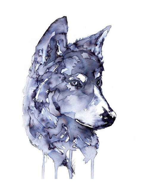 watercolor wolf tutorial 25 best ideas about watercolor wolf on pinterest wolf
