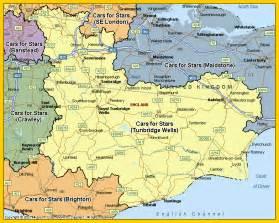 tunbridge kent map images