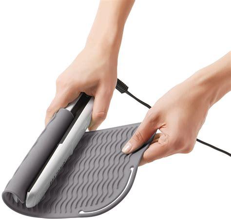 Flat Iron Mat by Oxo Flat Iron Mat In Hair Dryer Holders