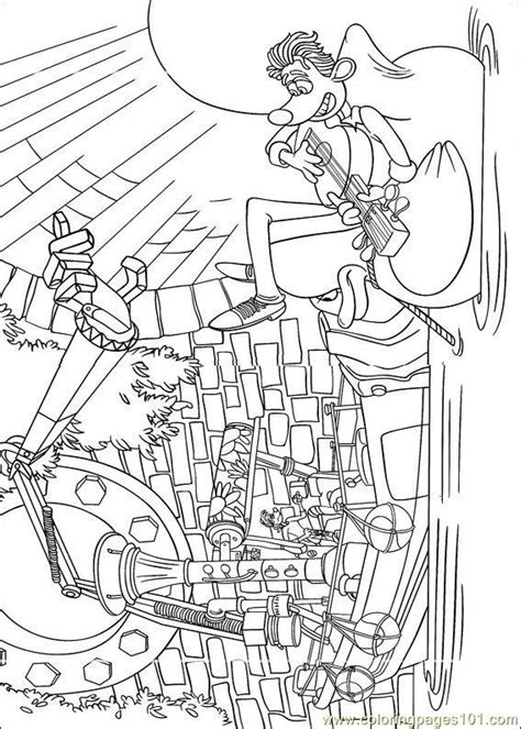 coloring pages flushed 11 cartoons gt flushed away free