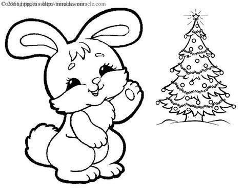 christmas bunny coloring page christmas bunny coloring pages coloring pages