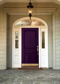 Front Door Photography How To Choose A Front Door Paint Colour Purple Door Doors And Purple