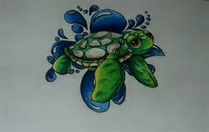 Tattoo 5 baby sea turtle myfolio