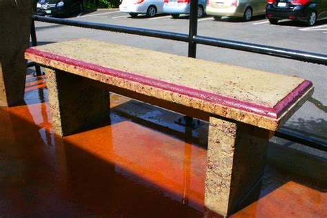 custom concrete benches custom wood benches seattle wa outdoor concrete benches