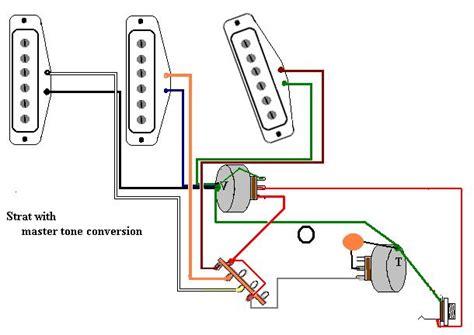 1 tone knob wiring telecaster guitar forum