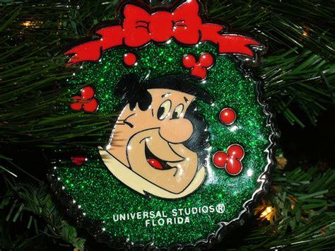 flintstones universal studios christmas ornament 1988 a