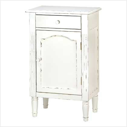 Vintage Bathroom Cabinets For Storage Distressed White Cabinet Vintage Antique Style Bathroom Storage Side End Table