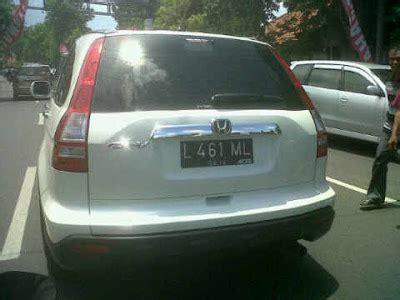 Lu Plat Nomor Mobil I Otomotif Plat Nomor Honda Crv Lagiml Gt L461ml