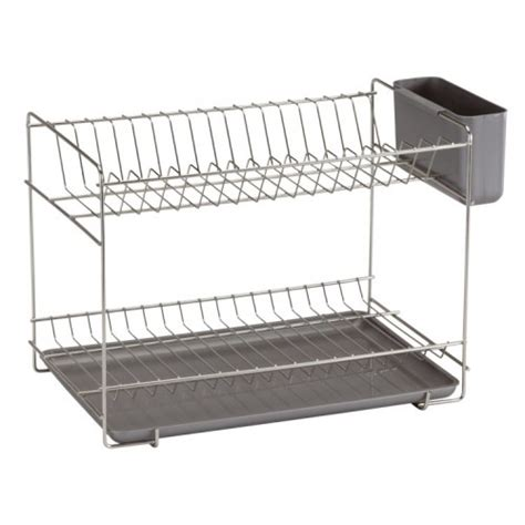 Stainless Steel Dish Rack Large by 18 8 Stainless Steel Dish Drainer