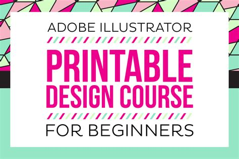 typography for beginners adobe illustrator printable design course for beginners