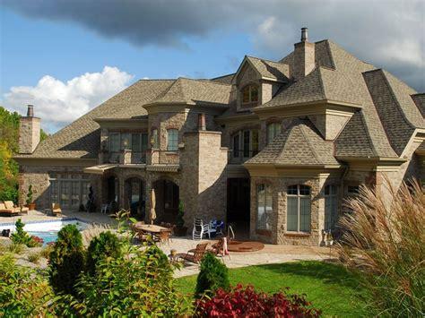 dreams homes cambria q stone with clay brick accents dream home