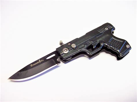 small switchblade knife gun key chain 4 3 8 quot small switchblade automatic