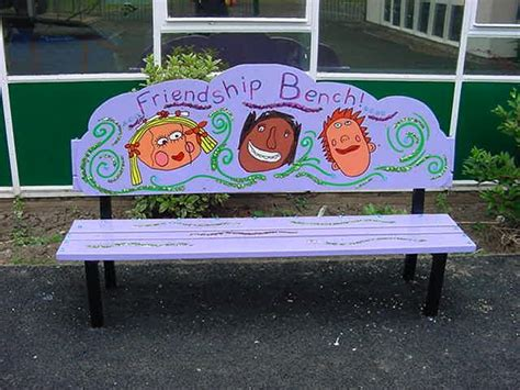 friendship benches 37 best ideas about buddy benches and friendship seats on