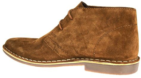 high quality mens boots desert suede leather lace up mens chukka gobi
